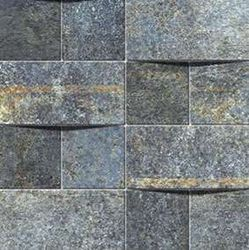 Alchemy 7.0 Blue Hammered Mosaico Brick 30x30