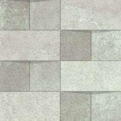 Alchemy 7.0 White Hammered Mosaico Brick 30x30