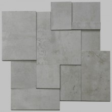 Apavisa Regeneration grey natural mosaico brick 30x30